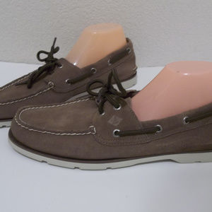 SPERRY TOP SIDER BROWN LEATHER BOAT SHOES 11.5
